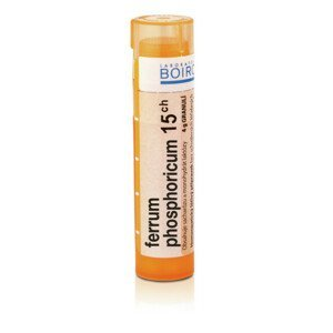 FERRUM PHOSPHORICUM 15CH granule 1X4G