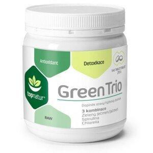 Green Trio Chlor.Spirul.Z.ječmen tbl.540 TOPNATUR