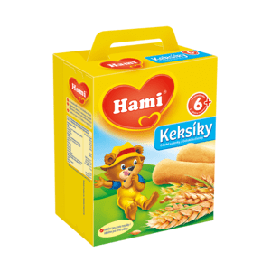 Hami Keksíky dětské sušenky 180g 6M C-28