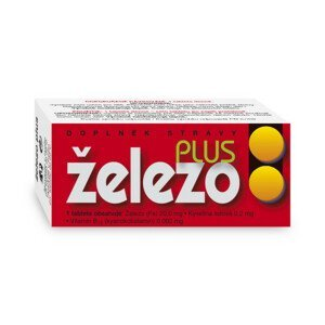 NATURVITA ŽELEZO Plus tbl.60