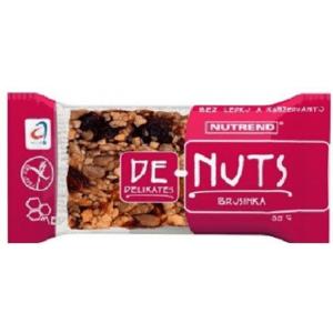 NUTREND DeNuts Ořechová tyčinka brusinka 35g