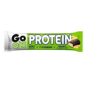 GO ON Proteinová tyčinka s oříšky 50g