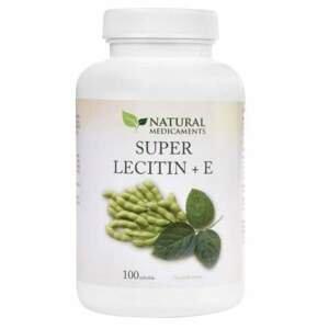 Natural Medicaments Super Lecitin+E tob.100