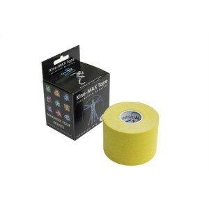 KineMAX Classic kinesiology tape žlutá 5cmx5m