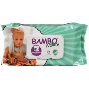BAMBO Nature vlhčené ubrousky 80ks