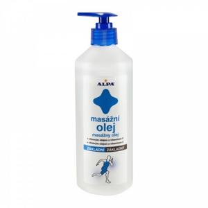 Alpa SportStar masážní olej základní 500ml