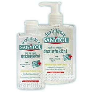Sanytol dezinfekční gel na ruce 75ml