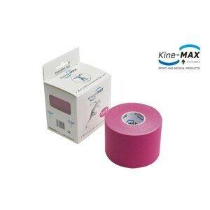 KineMAX 4Way kinesiology tape růžová 5cmx5m