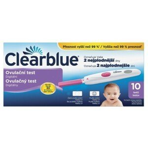 Clearblue digitální ovulační test 10ks