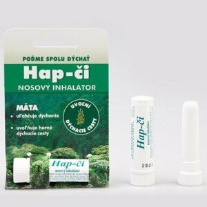 Hap-čí tyčinka - nosní inhalátor