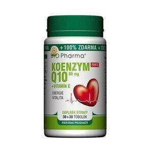 Koenzym Q10 Forte 60mg +Vitamín E tob.30+30 Bio-Ph