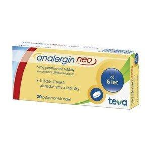 ANALERGIN NEO 5MG potahované tablety 20