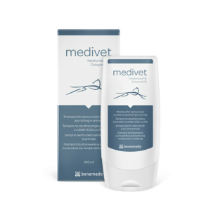 Medivet veterinární šampon - lupy a svědění 100ml