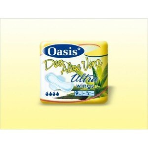 DHV Oasis ALOE VERA ultra deo singel 9ks