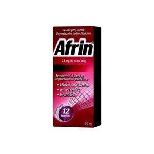 AFRIN 0,5MG/ML nosní podání SPR SOL 15ML