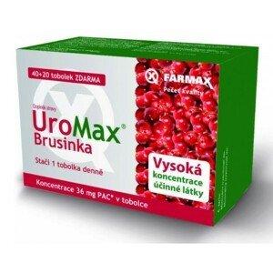 Uromax Brusinka tob.40+20 Zdarma