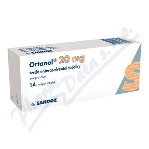 ORTANOL 20MG enterosolventní tvrdé tobolky 14