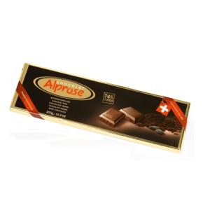ČOKOLÁDA ALPROSE hořká 74% kakaa 300g