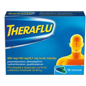 THERAFLU 500MG/100MG/6,1MG tvrdé tobolky 16