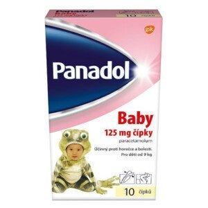 Panadol Baby 125mg čípky 10ks