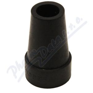 Násadec na berle č.3 TRV pryž.trv.černý 18mm/32mm