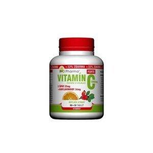 Vitamín C 1000mg+šípky 25mg+bioflav.34mg tbl.90+30