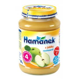 Hamánek kojenecká výživa s jablky neslazeno 180g C-149