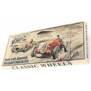 Čokoláda Belgická Classic Wheels hoř.s mandl.400g