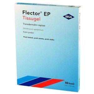 FLECTOR EP TISSUGEL 180MG léčivé náplasti 10