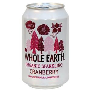 Whole Earth BIO Nápoj BRUSINKA plech 330ml