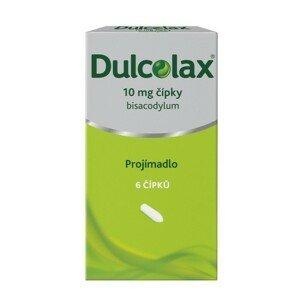 DULCOLAX 10MG čípek 6