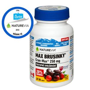 Swiss NatureVia Max Brusinky Cran-Max tbl.30+6