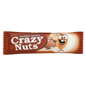 Crazy Nuts Mandle v mléčné čokoládě DRUID 30g