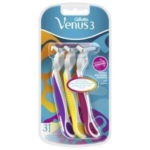 Gillette Venus3 Dispo 3ks Multicolor