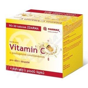 Farmax Vitamin C postup.uvol. tob. 90+30