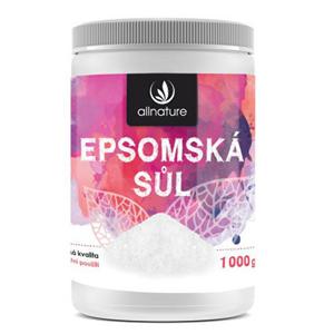 Allnature Epsomská sůl 1000 g - II. jakost