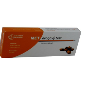 Drogový test MET Instant-View 1 ks - II. jakost