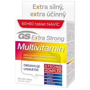 GS Extra Strong Multivitamin tbl.60+60 2017 - II. jakost