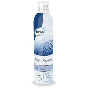 TENA Wash Mousse - Mycí pěna, bez použití vody 400ml - II. jakost