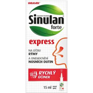 Walmark Sinulan Express Forte nosní sprej 15ml - II. jakost