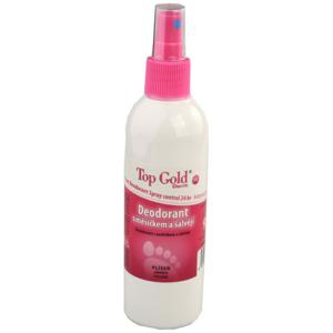 TOP GOLD Deo.s měsíčkem+šalvějí+Tea Tree Oil 150g - II. jakost
