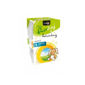 BABIO dětský biočaj heřmánkový 20x1.5g - II. jakost