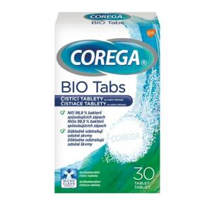 Corega Bio Tabs čisticí tablety 30ks - II. jakost