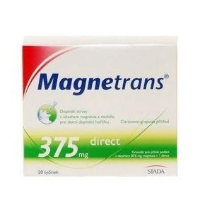 MAGNETRANS 375mg 50 tyčinek granulátu - II. jakost