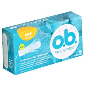 o.b. tampony ProComfort Normal 16ks - II. jakost