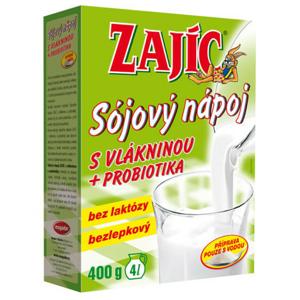 Sójový nápoj Zajíc s vlákninou 400g - II. jakost
