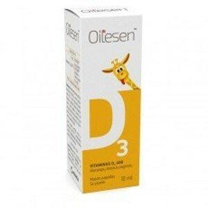 Oilesen Vitamin D3 400 kapky 10ml