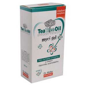 Tea Tree Oil mycí gel pro intimní hygienu 200ml - II. jakost
