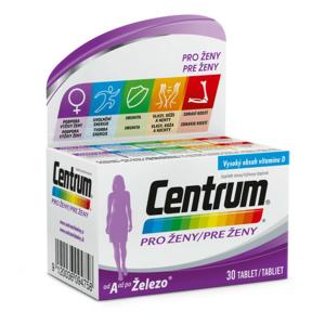 Multivitamin Centrum pro ženy 30tbl - II. jakost