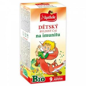 Apotheke Dětský čaj BIO na imunitu 20x1.5g - II. jakost